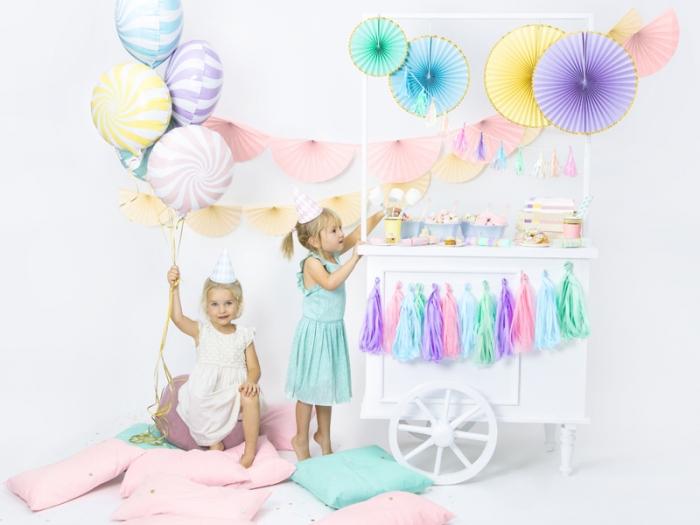 Balon folie Candy, 45cm, lila deschis 5
