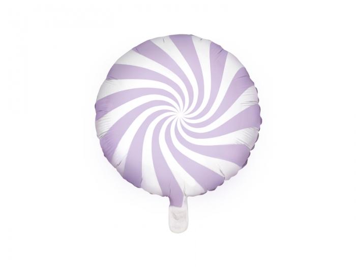 Balon folie Candy, 45cm, lila deschis 1