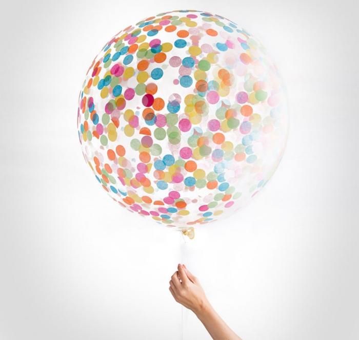 Balon Confetti 2