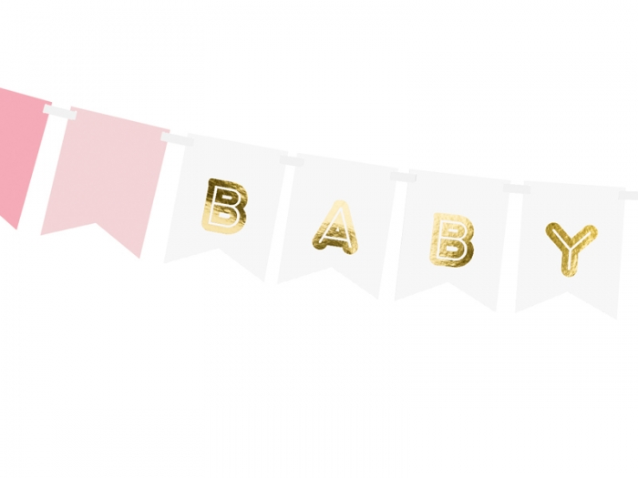 Banner Baby Girl, mix, 15 x 175 cm 1