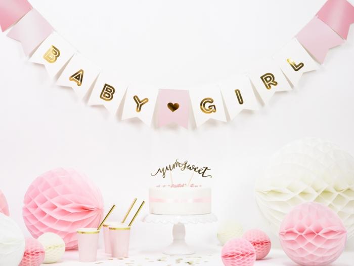 Banner Baby Girl, mix, 15 x 175 cm 0