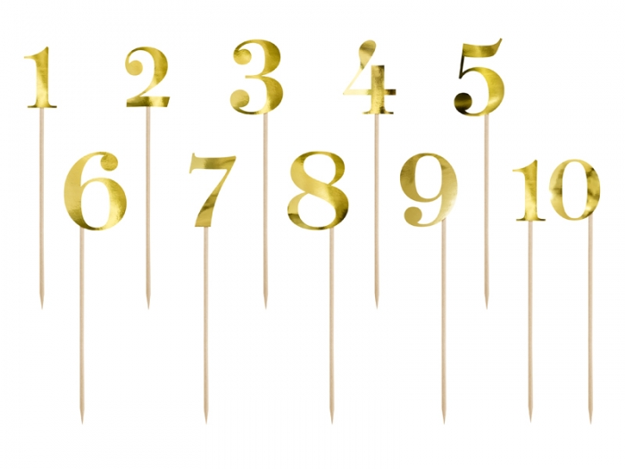 Numere de masa aurii, 25.5-26.5cm 1