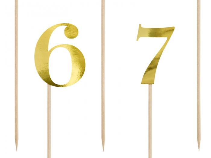 Numere de masa aurii, 25.5-26.5cm 9